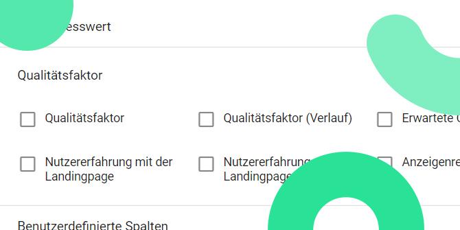 Google Ads Kennzahlen Qualitätsfaktor