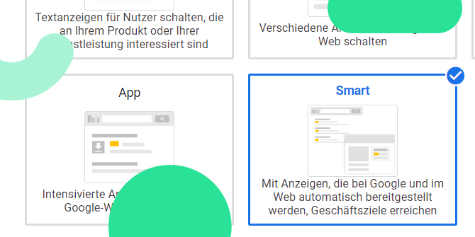 Google Ads Smart Display Kampagnen