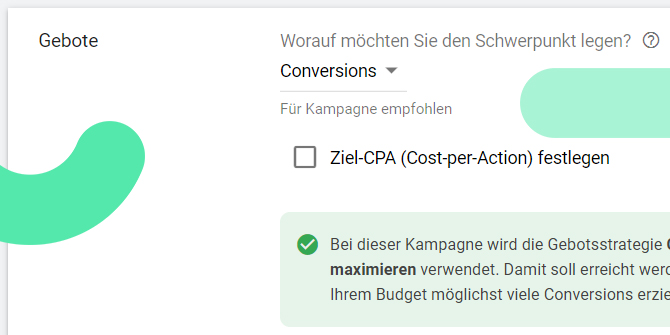 Google Ads Conversions maximieren
