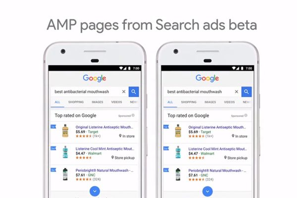 Google Marketing Next AMP Suchnetzwerk