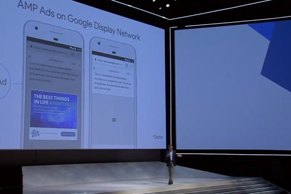 Google Marketing Next AMP Displayanzeigen