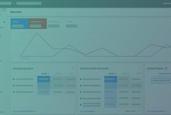 Die neue Google AdWords Benutzeroberfläche