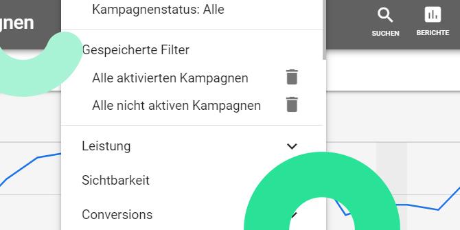 Google Ads Filter
