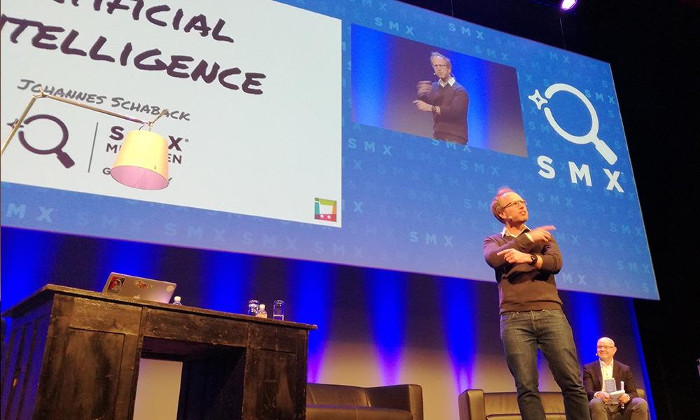 SMX München 2018 - Keynote zu KI