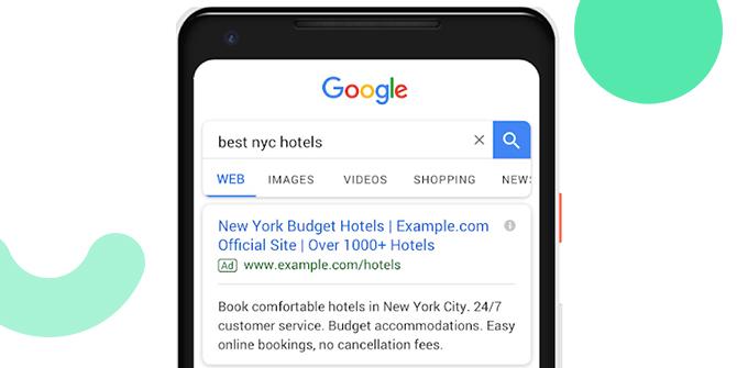 Google Ads erweiterte Textanzeigen dritter Titel