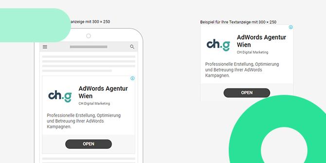Google Ads Display Textanzeigen neu